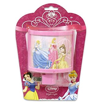 Disney princess curved night light nightlight kids bedroom for Home decorations amazon