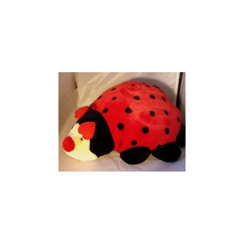 13 Long Love Bug Plush Ladybug