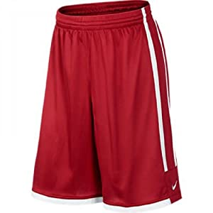 Nike League Short pour homme rouge Rouge/Blanc grand