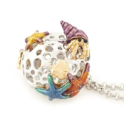 Under the Sea Orb Necklace by Bill Skinner