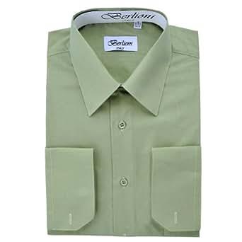 Elegant Men 39 S Button Down Sage Dress Shirt At Amazon Men S