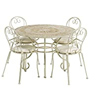 Jasmine Dining Table & 4 Chairs