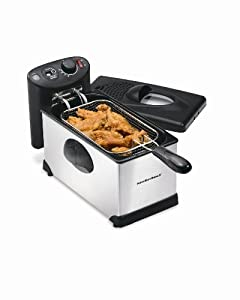Hamilton Beach 3 Liter Deep Fryer Digital Timer