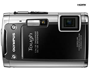 Olympus TG-610 Digital Camera - Black (14MP, 5x Wide Optical Zoom) 3 inch LCD