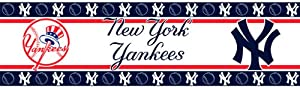 MLB New York Yankees Wall Border