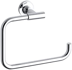 Kohler K-14441-CP Purist Towel Ring (Polished Chrome)