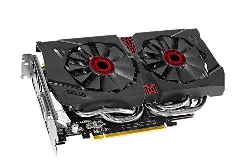 ASUSTek社製NVIDIA GeForce GTX960搭載ビデオカード(オーバークロック) STRIX-GTX960-DC2OC-2GD5