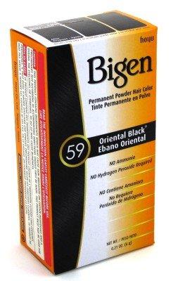 Bigen Powder Hair Color #59 Oriental Black 6 ml