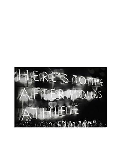 Oliver Gal Afterhours Athlete Canvas Art