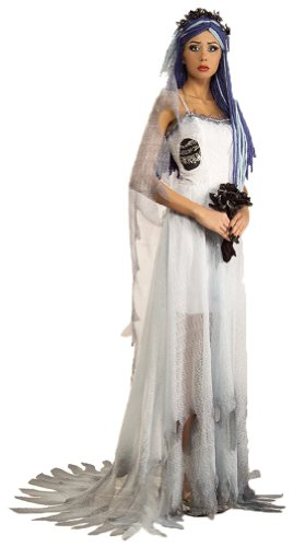 Corpse Bride Deluxe Adult Costume Lg Adult Womens Costume