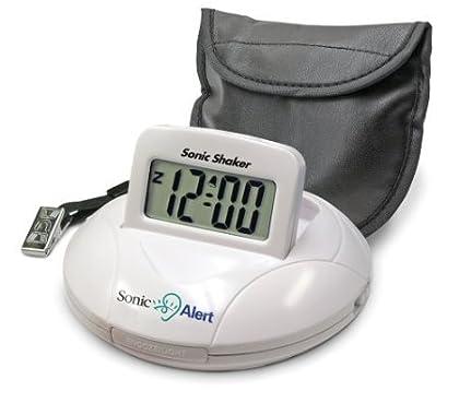携帯型振動式目覚まし時計 ソニックシェーカ 強力振動+アラーム 並行輸入品