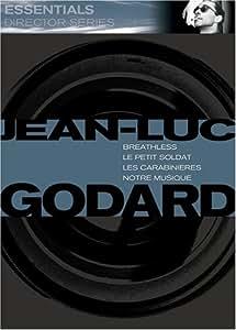 Essentials Directors Series - Jean-Luc Godard (Breathless / Le Petit Soldat / Les Carabinieres / Notre Musique)