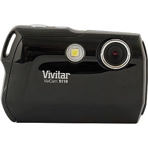 Vivitar Vivicam V5119 5.1 Megapixel Digital Camera with 4x zoom + Flash in Black