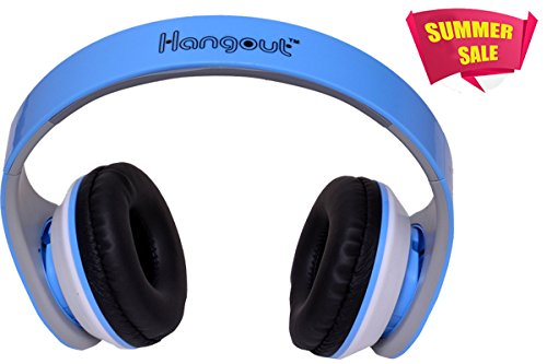 Valentines Special Hangout Consistance Stereo Headset HO-003 - Blue