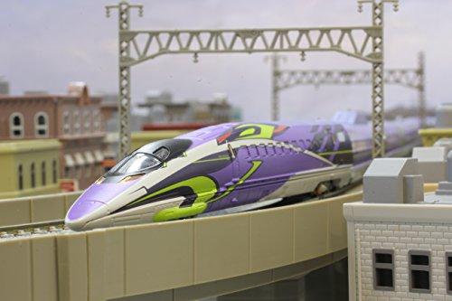 Zゲージ T013-4 新幹線 エヴァンゲリオン プロジェクト 500TYPE EVA 3両基本セット