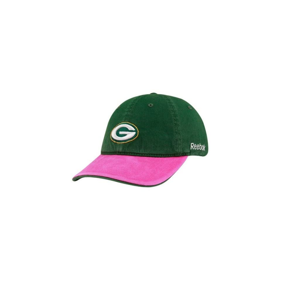 e0da5034203 Womens Green Bay Packers Breast Cancer Awareness Coaches Sideline ...
