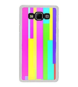Multicolour Pattern 2D Hard Polycarbonate Designer Back Case Cover for Samsung Galaxy A8 (2015 Old Model) :: Samsung Galaxy A8 Duos :: Samsung Galaxy A8 A800F A800Y