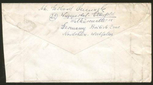 Gerhard Domagk - Envelope Signed