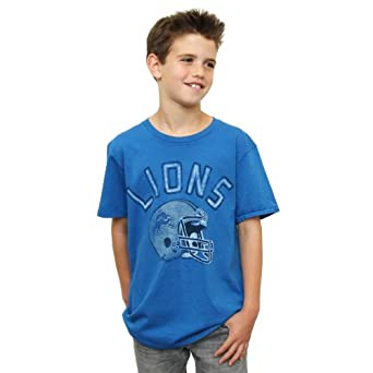 NFL Detroit Lions Youth Kickoff Crew T-Shirt by Junk Food