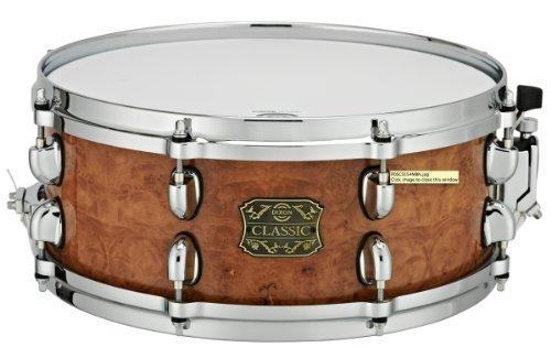 Dixon Pds-Cs554Mbn 5.5X14 Maple Burl Snare Drum