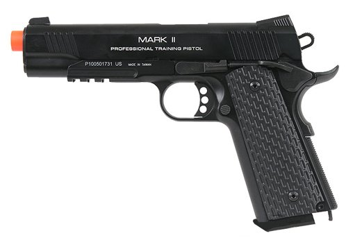 KWA Airsoft M1911 PTP MKII gas blow back pistol