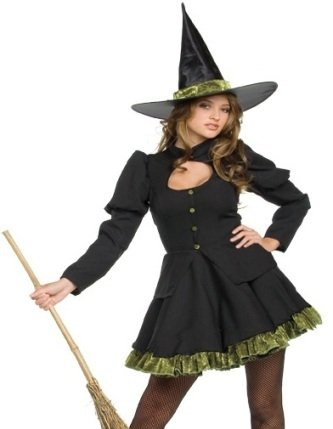 Totally Wicked Costume - Small - Dress Size 4-6