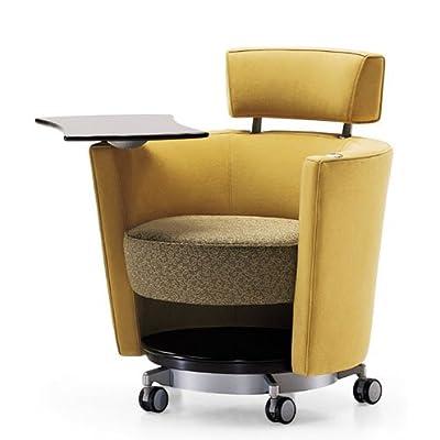 Amazon.com - Mobile Lounge Swivel Chair, Haworth Hello Seating
