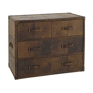hanjel commode 4 tiroirs metabief epuise marron. Black Bedroom Furniture Sets. Home Design Ideas