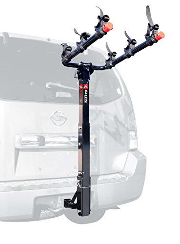 Allen Sports 3-Bike Hitch Mount Rack with 1.25/2-Inch Receiver (2013 Toyota Sienna Roof Rack compare prices)