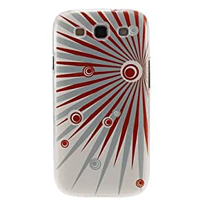 Bursting with Passion Pattern Plastic Protective Hard Back Case Cover for Samsung Galaxy S3 I9300 in Multi-color