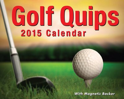 (3X4) Golf Quips - 2015 Mini Day-To-Day Calendar
