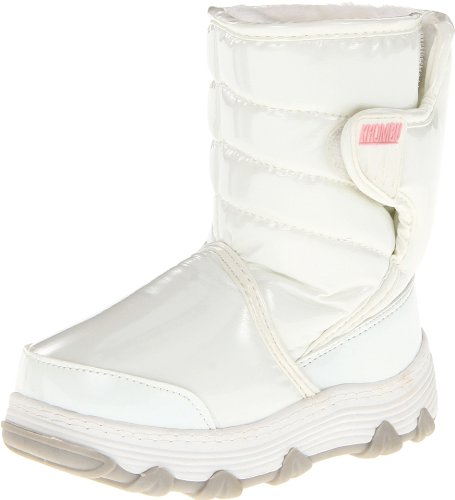 Khombu Traveler 3,White Patent,4 M US Big Kid