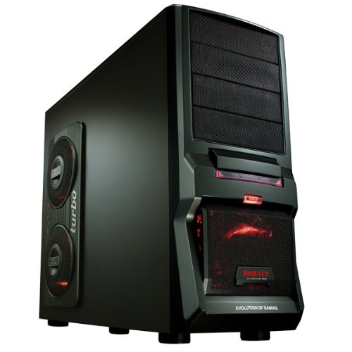 GAMING PC AMD FX 4100 Quad Core 4x3,6GHz - Asus Motherboard - 1000GB HDD - 8GB DDR3 (1333 MHz) - DVD Writer - Grafik GeForce GTX560Ti (1024MB DDR5-VGA-DVI-HDMI-DirectX 11) - Audio - 6xUSB 2.0 - LAN - 650W - Cardreader - Wireless LAN (USB/150MBit) - 1xeSATA - 3xLED Fan - Windows7 Home Premium 64Bit English (incl.DVD u.Lizenzkey) - COMPUTER