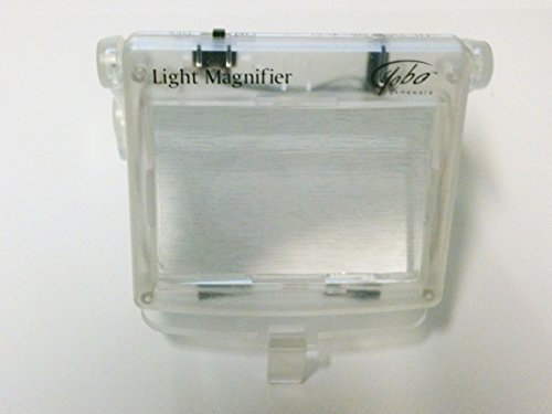 LIGHT MAGNIFIER for Nintendo Game Boy Advance Clear NEW (Game Boy Advance Light Magnifier compare prices)