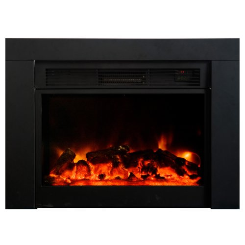 Yosemite Home Decor DF-EFP920 Hardy Electric Fireplace, Black image B005C3I7NM.jpg