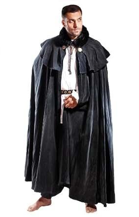 Amazon.com: Armor Venue Men's Manteau Cloak - Medieval Cape Costume