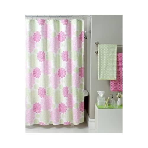 "Amazon.com - Tommy Hilfiger ""Hibiscus Hill"" Shower Curtain -"