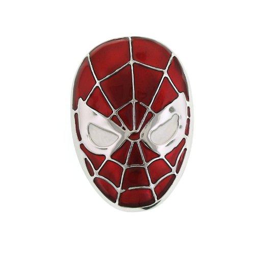 superhero-spider-man-red-head-enamel-round-belt-buckle-4002