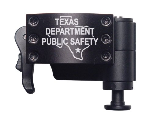 Police Tx Dps State Ol Engraved Burris Qd Flip To Side Mount 30Mm X-High By Ndz Performance