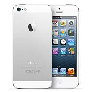 Apple iPhone 5 SIM FREE UNLOCKED - White (64GB, WHITE)