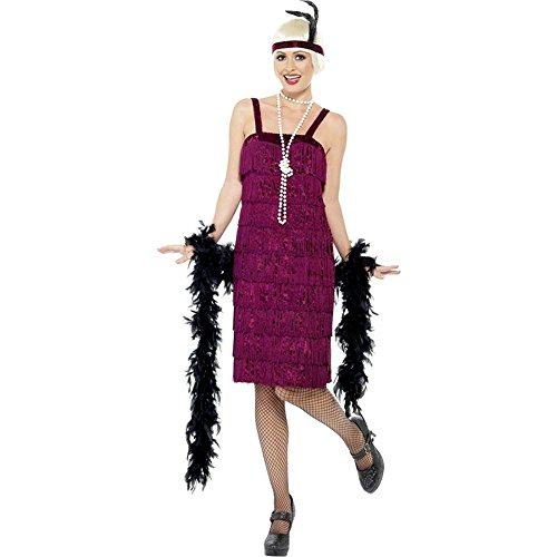 Red Jazz Flapper Plus Size Costume
