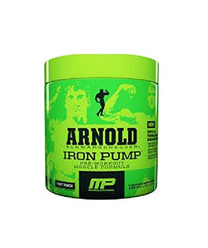 Arnold schwarzenegger Iron Pump Pre-Workout Muscle Formula, Fruit Punch, 4.23 Oz (Arnold Iron Pump Pre Workout compare prices)