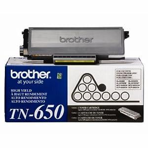 TN650 High-Yield Toner, 8000 Page-Yield, Black