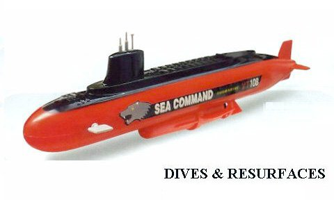 Sea Command Submarine