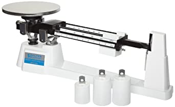Brecknell MB2610 Mechanical Triple Beam Pan Balance, 2610g Capacity, 0.1g Readability