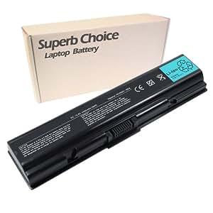 TOSHIBA Satellite A305-S6857 L505D-S5983 A505-S6973 A505-S6030 Laptop Battery - Premium Superb Choice® 6-cell Li-ion battery
