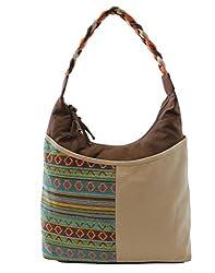 Anekaant Shoulder Bag (Brown) (ADB2732C)