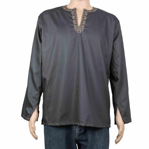 Kurta Shirt For Men Dress Indian Costumes Cotton Clothing
