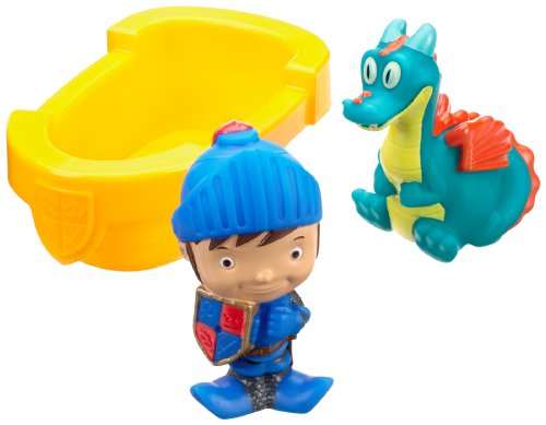 Fisher-Price Mike the Knight: Mike & Squirt Bath Buddies