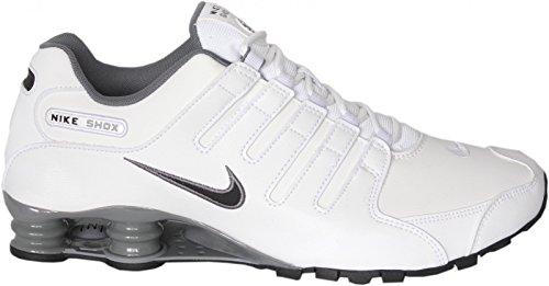 Nike Shox NZ, Größe:48.5;Farbe:Weiß/Grau